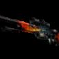 SSG 08 (StatTrak™) | Fogo Dracônico FN