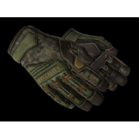 Luvas de Especialista (★)   Camuflagem Digital — Floresta FT